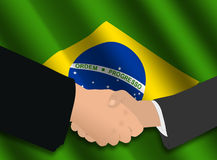 Brazilian business meeting Royalty Free Stock Images
