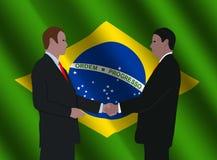 Brazilian business men meeting Royalty Free Stock Image