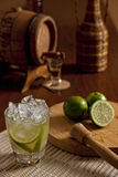 Brazilian Caipirinha Set Royalty Free Stock Photos