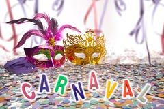 Brazilian Carnival background Royalty Free Stock Photos