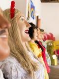 Brazilian Carnival Costumes Stock Photography