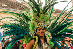 Brazilian carnival dancer Stock Photography