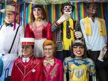 Brazilian Carnival Decor Stock Images