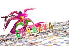 Brazilian Carnival Theme Royalty Free Stock Photo