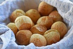 Brazilian cheese bread. A batch of Brazilian cheese bread Royalty Free Stock Image