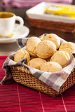 Brazilian cheese buns Stock Photography
