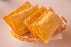 Brazilian Cheese Pastel Royalty Free Stock Images