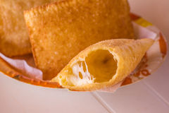 Brazilian Cheese Pastel Stock Image