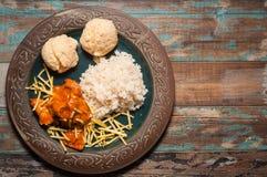 Brazilian Chicken Stroganoff Royalty Free Stock Image
