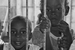 Brazilian children Stock Image