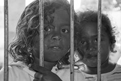 Brazilian children Royalty Free Stock Photography