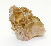 Brazilian Citrine formation Stock Images