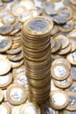 Brazilian Coin Royalty Free Stock Photo