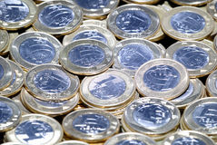 Brazilian Coins Stock Images