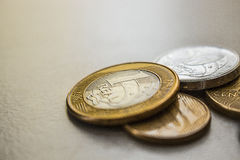 Brazilian Coins Stock Photography