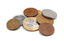 Brazilian Coins Stock Image