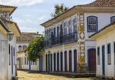 Brazilian Colonial Buildings Royalty Free Stock Photography