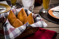 Brazilian Coxinha Royalty Free Stock Images