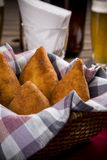 Brazilian Coxinha Stock Photo