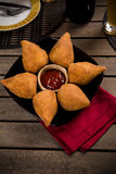 Brazilian Coxinha Royalty Free Stock Photography