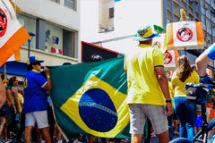 Brazilian Crowd Royalty Free Stock Images