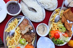 Brazilian cuisine Royalty Free Stock Photography
