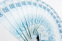 Brazilian Currency Royalty Free Stock Images
