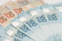 Brazilian Currency - Real Stock Image