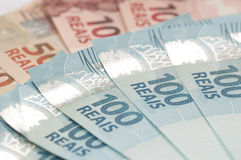 Brazilian Currency - Real Stock Photo