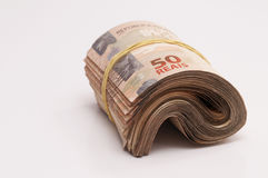 Brazilian Currency (Real) Stock Image
