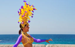Brazilian dancers Stock Photography