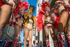 Brazilian dancers Royalty Free Stock Image
