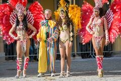 Brazilian dancers Royalty Free Stock Photos