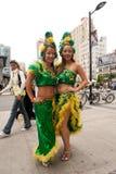 Brazilian Day in Toronto Royalty Free Stock Photos