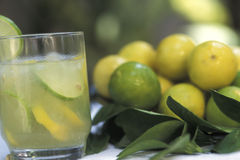 Brazilian drinks: caipirinha. Royalty Free Stock Images