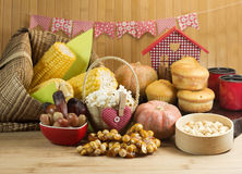 Brazilian farm food Stock Images