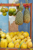 Brazilian Farmers Market Tropical Fruits Royalty Free Stock Photography