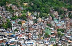 Brazilian favela Royalty Free Stock Photos