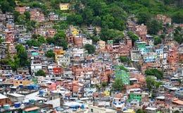 Brazilian favela Royalty Free Stock Photography