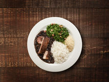 Feijoada dish Royalty Free Stock Images