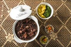 Brazilian Feijoada Food. Royalty Free Stock Photography