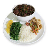 Brazilian feijoada Royalty Free Stock Image
