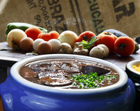 Brazilian feijoada Royalty Free Stock Photos