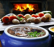 Brazilian feijoada Stock Photography