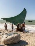 Brazilian fishermen Stock Photos