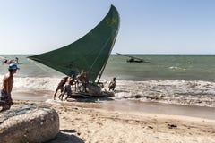 Brazilian fishermen Stock Image