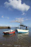 Brazilian Fishing Boats Salvador Bahia Brazil Royalty Free Stock Images