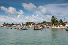 Brazilian Fishing Town Stock Photo