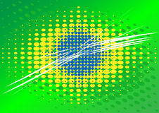 Brazilian flag Stock Image
