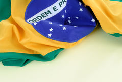 Brazilian Flag Royalty Free Stock Photo